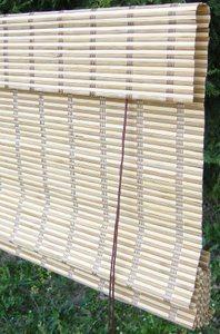 Tende tapparelle arrelle avvolgibili in bamb ordine su - Tende in bambu per esterni obi ...