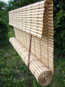 Tende tapparelle arrelle avvolgibili in bamb ordine su - Tapparelle da esterno ...